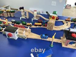 Thomas the Train Large Wooden Bench Storage Bin Toy