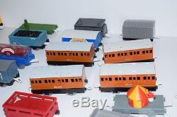 Thomas the Train Lot Huge Large 400+ Piece Set TOMY Blue Engine Motorized Lady