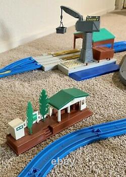 Thomas the Train Ultimate Set Motorized Road & Rail System Huge Lot 232 Pieces