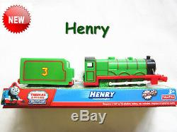 Thomas the tank engine TRACKMASTER Train Henry compatible with all tracks