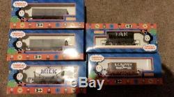 Thomas the tank engine milk tar sc ruffey Hornby toy trains in box 2000s