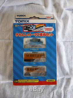 Tomix N Scale 93801 Thomas The Tank Engine Set Slightly Used Excellent Condition