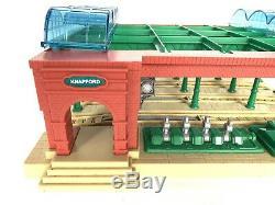 Trackmaster Thomas Train Friends Knapford Station Hit Toy Co Gullane Rare HTF