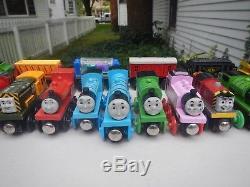 VTG Thomas the Tank Engine & Friends Wooden Railway Train & Car Lot
