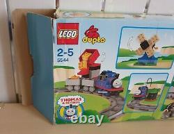 Vintage Lego Duplo 5544 Thomas The Tank Engine Train Starter Set VGC