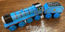Vintage Thomas Wooden Train Set MINT 2002 Retail Display Kit Henry Gordon Lot
