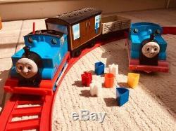 Vintage VERY RARE Merit BIG BIG Thomas The Tank Engine Train Set Working Order