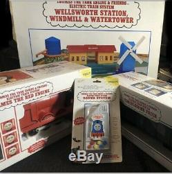 Vtg Lionel Thomas The tank Engine & Friends Electric Train System New In Boxes