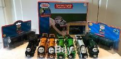 Wooden Thomas the Tank Engine Trains & Carriage/Truck/Tender Bundle Collection